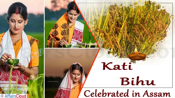 Kati Bihu celebrated in Assam