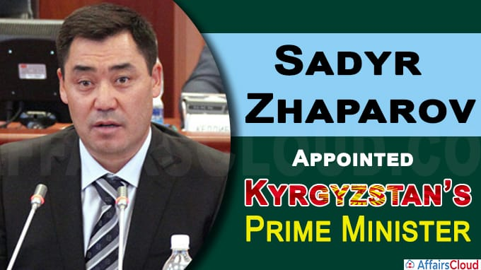 Kyrgyzstan's parliament elects new PM