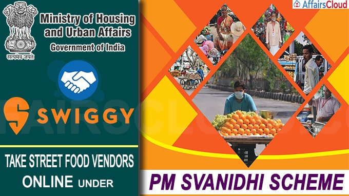 MoHUA Joins Hands with Swiggy to Take Street Food Vendors Online Under PM SVANIDHI Scheme