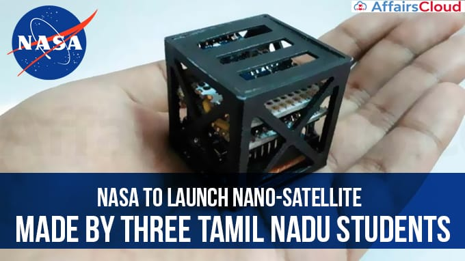 NASA-to-launch-nano-satellite-made-by-three-Tamil-Nadu-students
