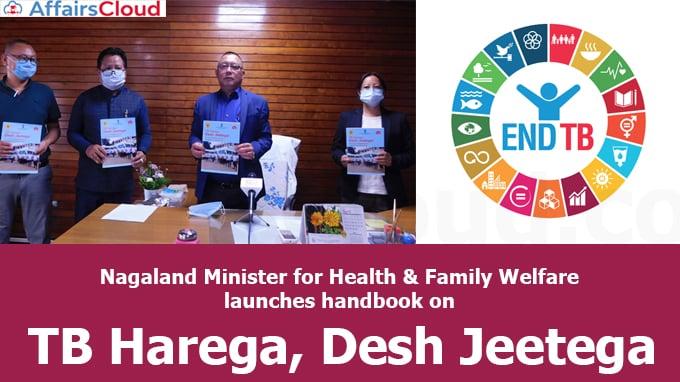 "Nagaland-Minister-for-Health-&-Family-Welfare-launches-handbook-on-""TB-Harega,-Desh-Jeetega"""