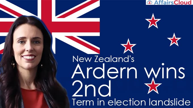 New-Zealand's-Ardern-wins-2nd-term-in-election-landslide