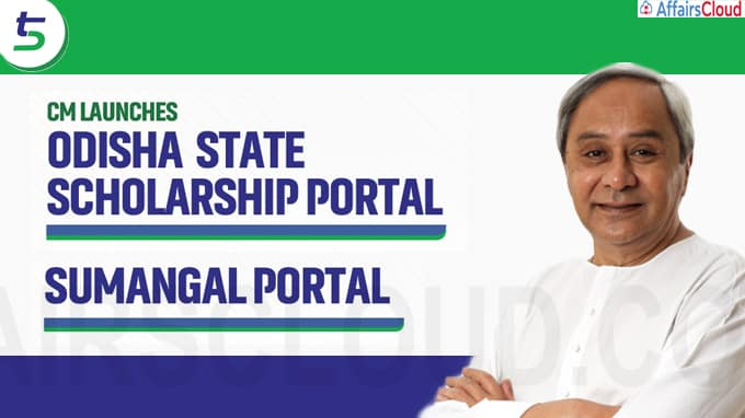 Odisha CM Launches Web Portals For Student Scholarships Inter-Caste Marriage Incentives