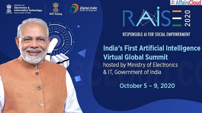 PM Modi inaugurates 5-Day RAISE 2020 Global AI Summit