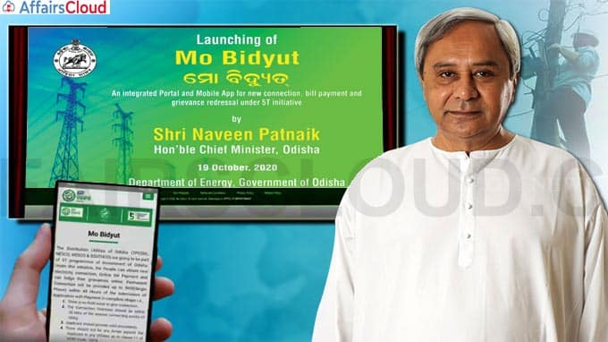 Patnaik launches service portal, mobile app for electricity consumers