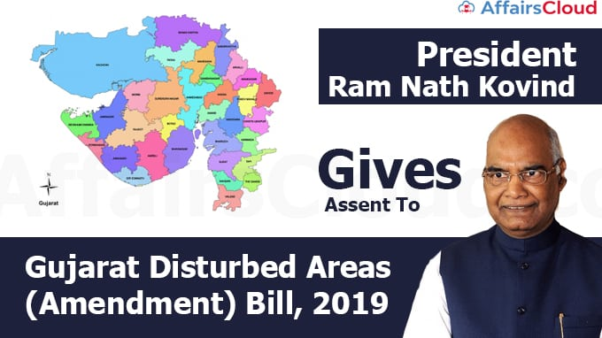 President-Ram-Nath-Kovind--gives-Assent-to--(Amendment)-Bill,-2019