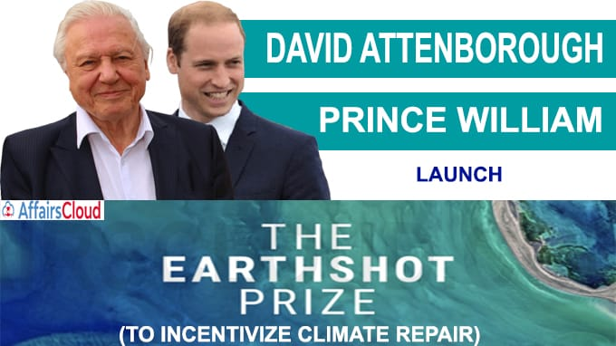 Prince William, David Attenborough launch 'Earthshot' Prize to incentivize climate repair