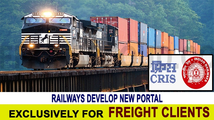Railways develop new portal exclusively for freight clients
