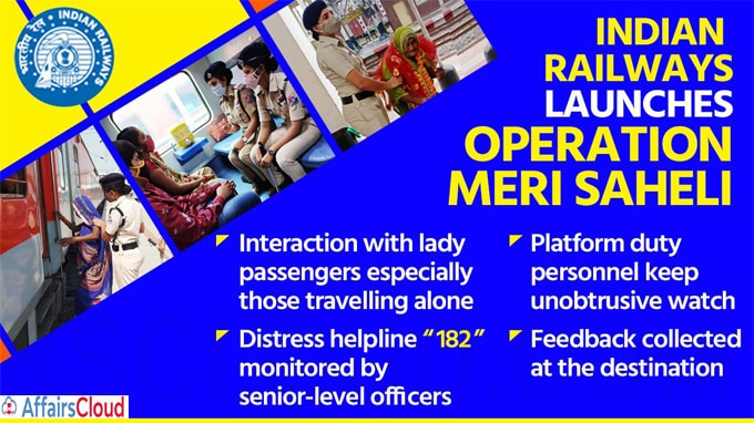 Railways launches 'Meri Saheli' initiatives for safety of women passengers