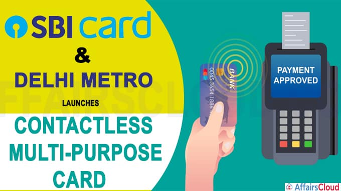 SBI Card launches contactless multi-purpose card