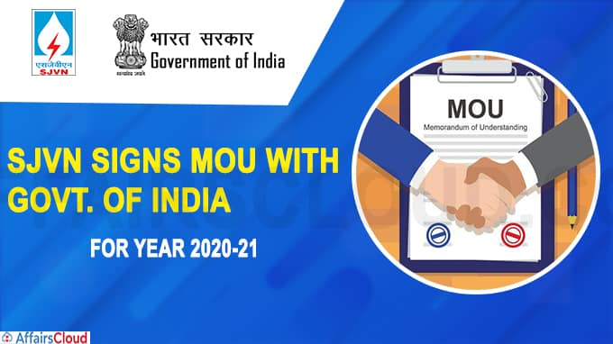 SJVN signs MoU with Govt