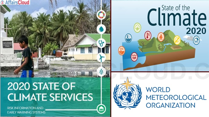 State of Climate Services Report of WMO