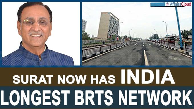 Surat now has India' longest BRTS network
