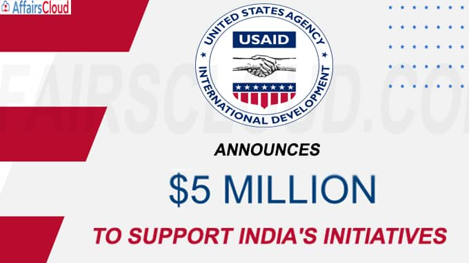 USAID announces 5 m to support India's Initiatives