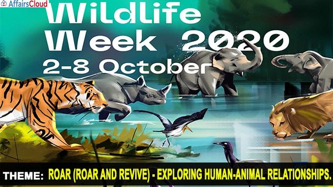 Wildlife Week - October 1 - 7