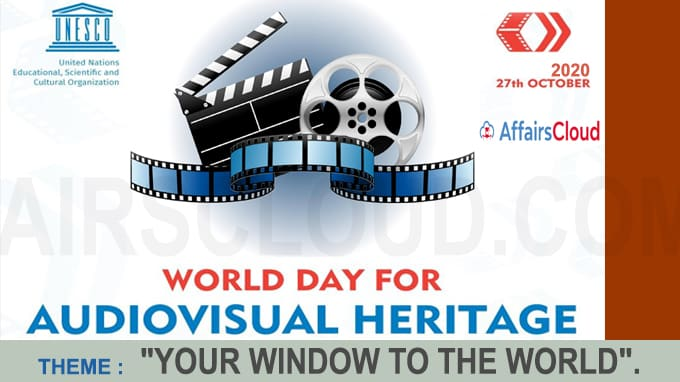 World Day for Audiovisual Heritage October 27 2020