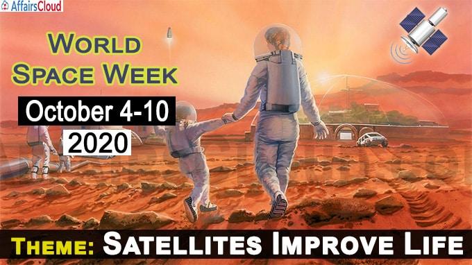 World Space Week - October 4-10