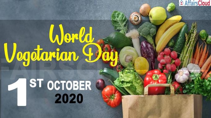World Vegetarian Day 2020