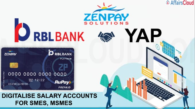 Zenpay RBL Bank join hands to digitalise salary accounts