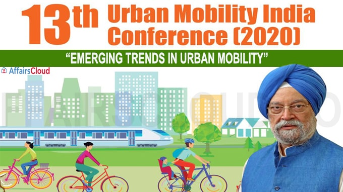 13th Urban Mobility India Conference on Emerging Trends in Urban Mobility Inaugurated