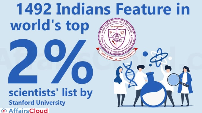14 scientists from IIT-BHU in world's top 2% scientists' list by Stanford University new