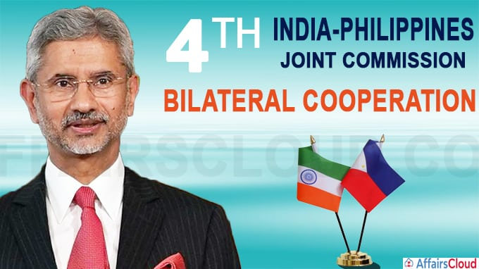 4th India-Philippines Joint Commission
