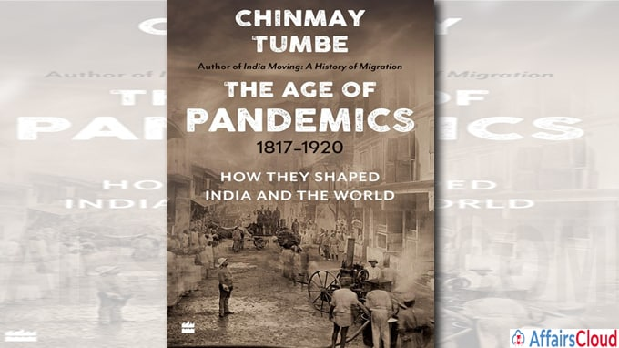 A book titled The Age of Pandemics by chinmay tumbe