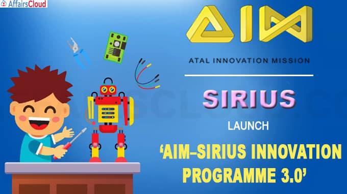 AIM–Sirius Innovation Programme 3-0