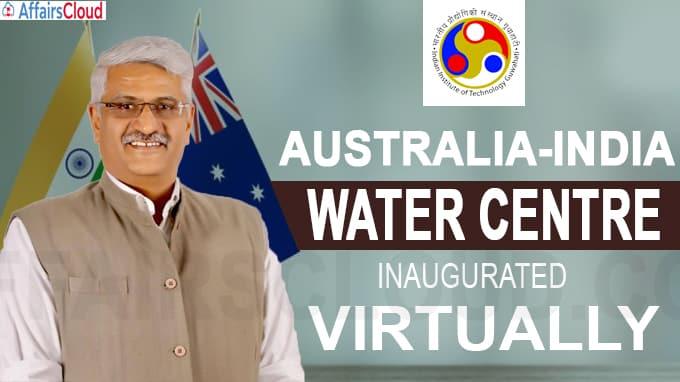 Australia-India Water Centre virtuallyinaugurated