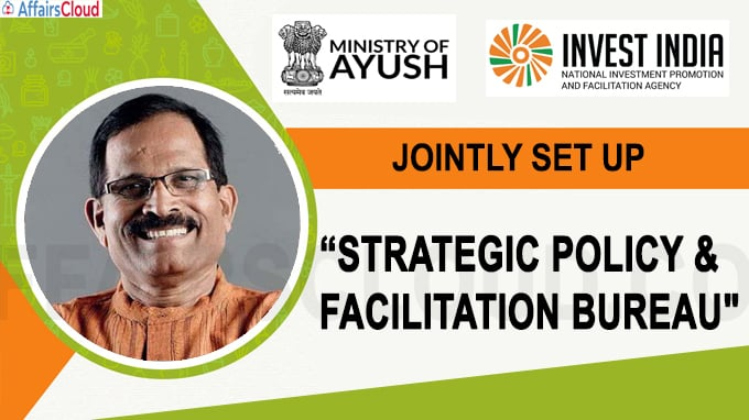 Ayush Ministry ties up with Invest India to set up strategic policy unit