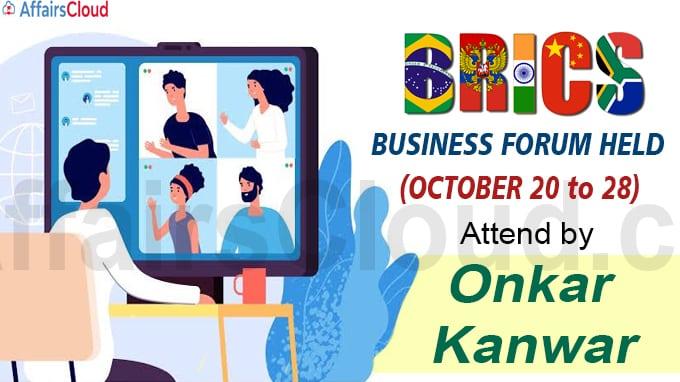 BRICS Business Forum held