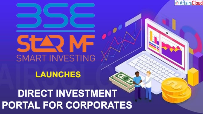 BSE StAR MF launches a direct investment portal for corporates