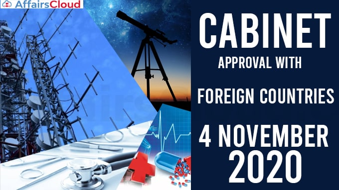 Cabinet-approval-with-Foreign-countries--on-November-4,-2020