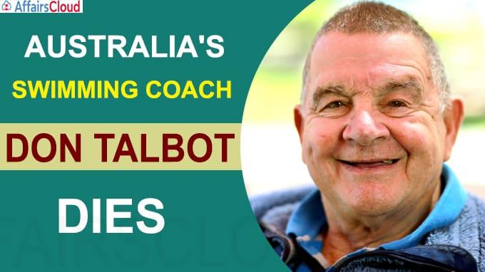 Don Talbot Australia swimming coaching great dies at 87
