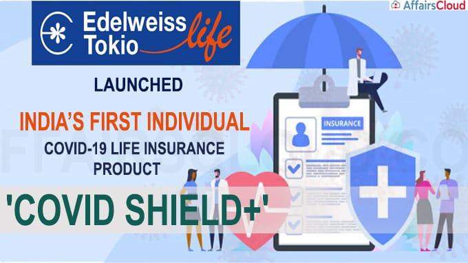 Edelweiss Tokio launched Covid-19 life insurance product 'Covid Shield+'
