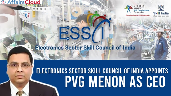 Electronics-Sector-Skill-Council-of-India-appoints-PVG-Menon-as-CEO