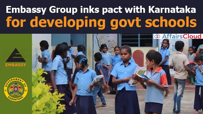 Embassy-Group-inks-pact-with-Karnataka-for-developing-govt-schools