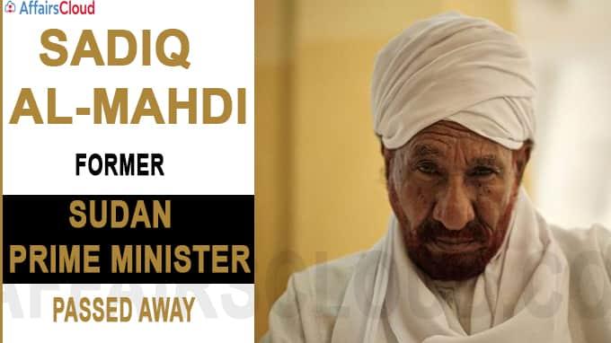 Former Sudan Prime Minister Sadiq al-Mahdi dies of COVID-19