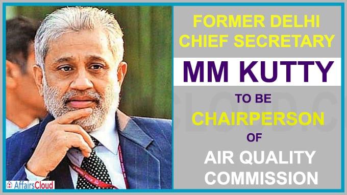 Former bureaucrat M M Kutty