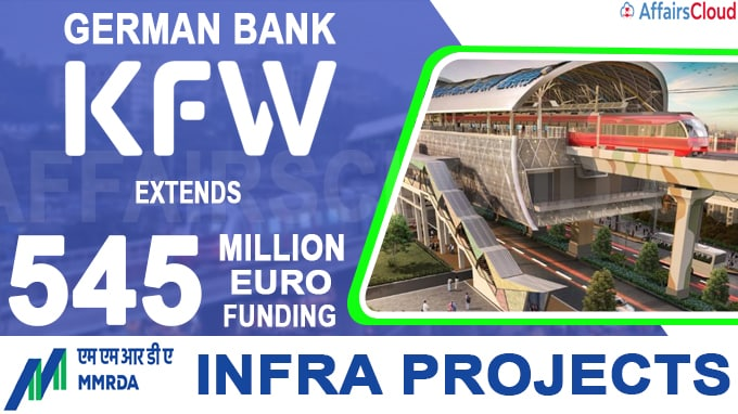 German Bank KfW extends 545 million Euro funding to MMRDA infra projects