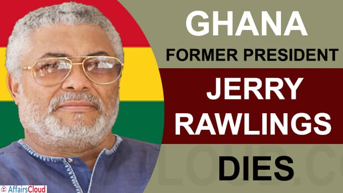 Ghana former President Jerry Rawlings dies