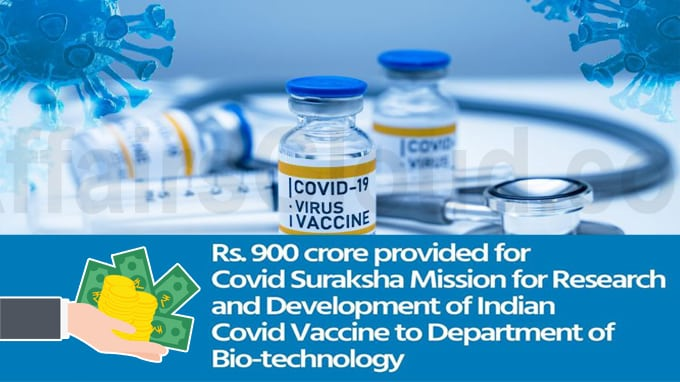 Govt announces Rs 900 crore package for COVID-19 Vaccine Development Mission