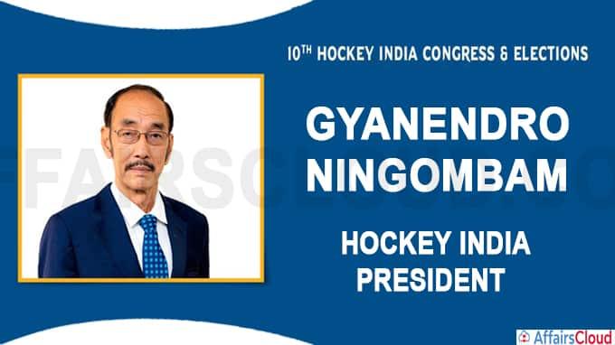 Gyanendro Ningombam replaces Mushtaque Ahmad as Hockey India president