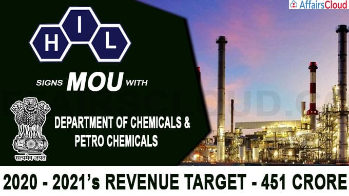 HIL signs MOU with Department of Chemicals & Petro Chemicals new