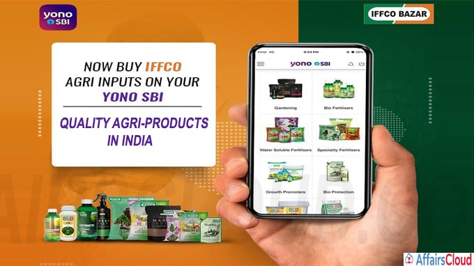 IFFCO Bazar partners with SBI YONO