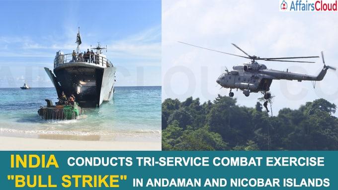 India conducts Tri-Service combat