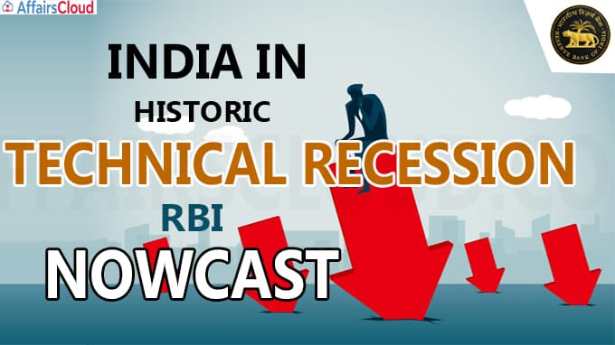 India in historic technical recession, RBI 'nowcast' shows