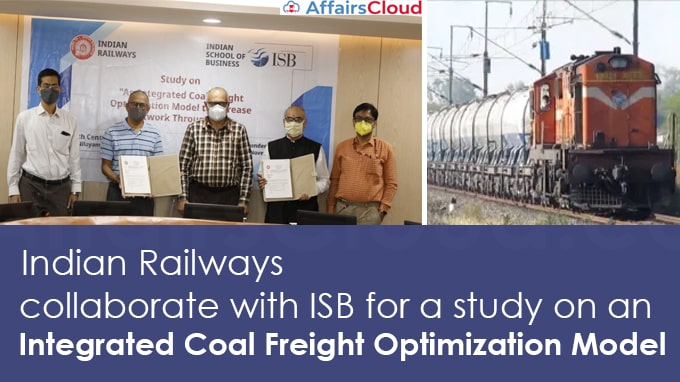 Indian-Railways-collaborate-with-ISB-for-a-study-on-an-integrated-coal-freight-optimization-model