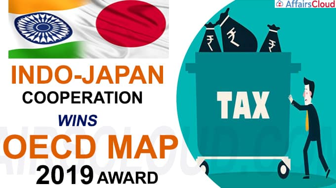 Indo-Japan cooperation wins OECD MAP 2019 award