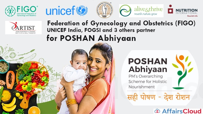 International-Federation-Of-Gynecology-And-Obstetrics,-UNICEF-India,-FOGSI-And-3-Others-Partner-For-POSHAN-Abhiyaan